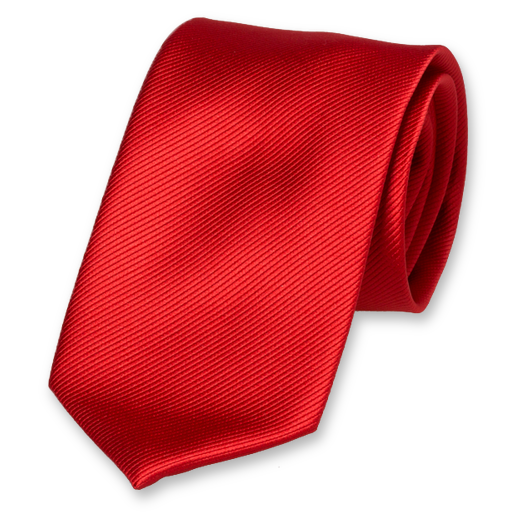 Stropdas rood - Polyester (1)