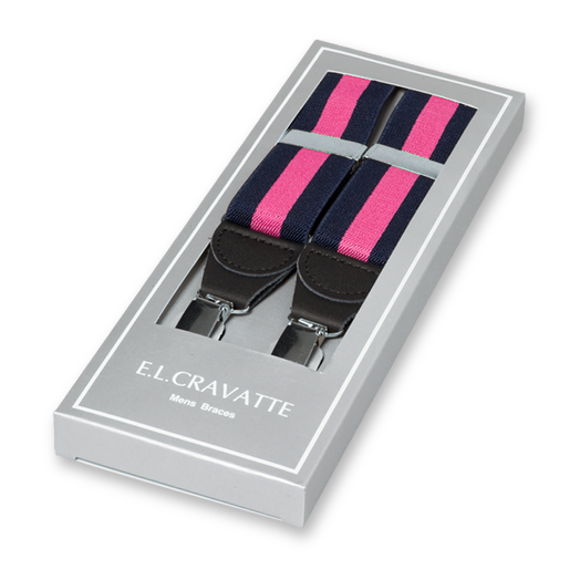 Bretels Navy-Roze (1)