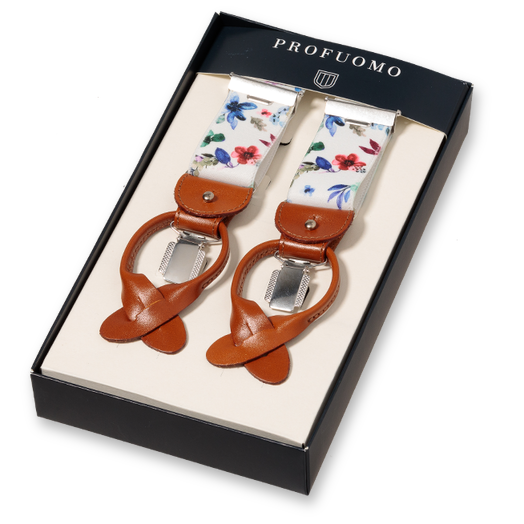 Profuomo Bretels Flowers Multi (1)
