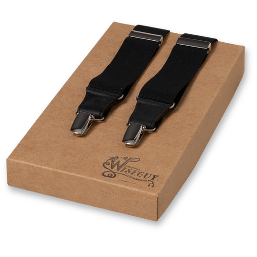 Wiseguy Suspenders - Soul Black Wide (1)