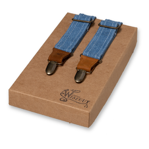 Wiseguy Suspenders - Light Denim - Amsterdenim  (1)