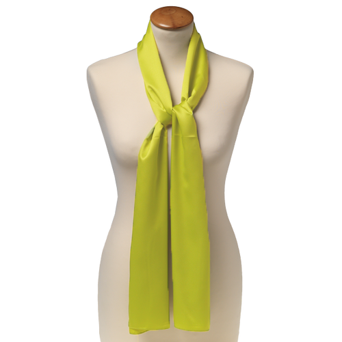 Sjaal Lime - 25x160 cm - Polyester (1)