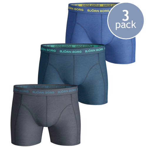 Björn Borg Boxershorts Seasonal Total Eclipse - 3 Pack (1)