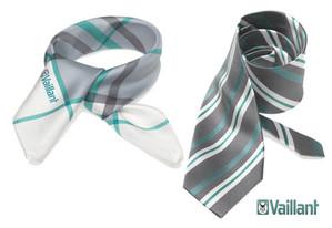 stropdassen en shawls