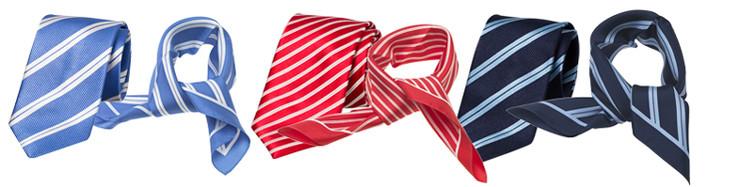 stropdassen en bijpassende sjaals