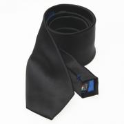 zwarte stropdas van satijnzijde