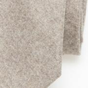 wollen stropdas camel - detail